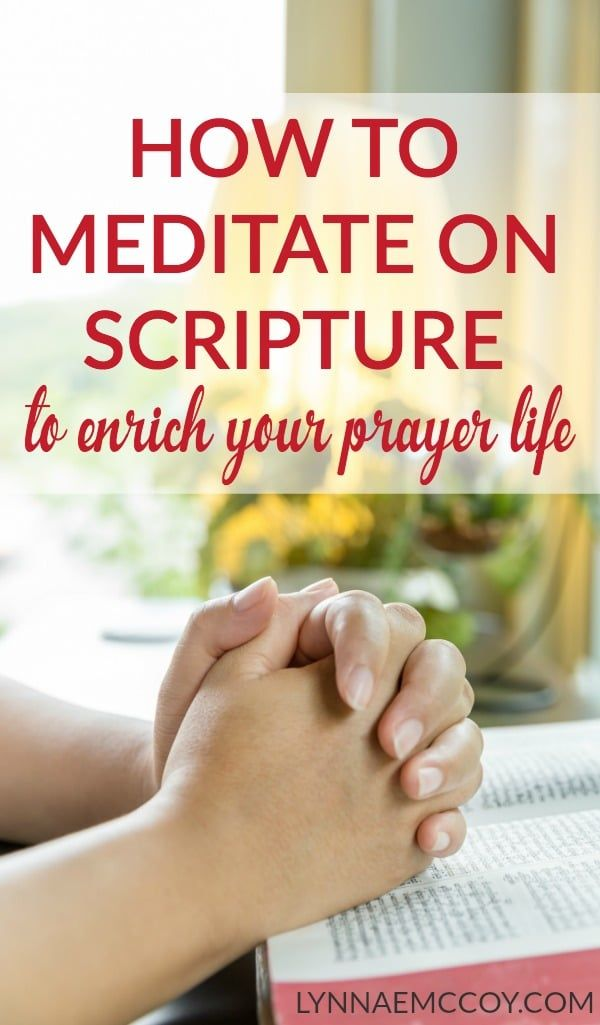 Meditating on scripture is a great way to draw near to the heart of God and…