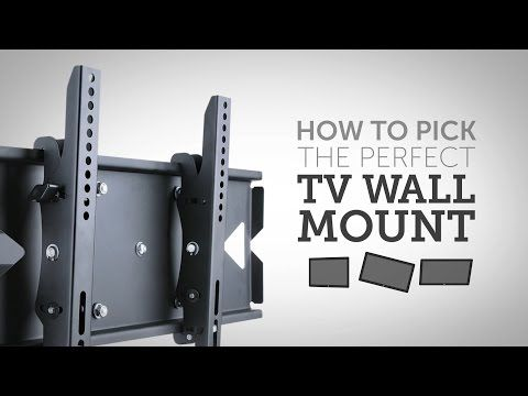 Full-Motion Wall Mount Bracket for 32-55 inch TVs, Max 88 lbs. - Monoprice.com