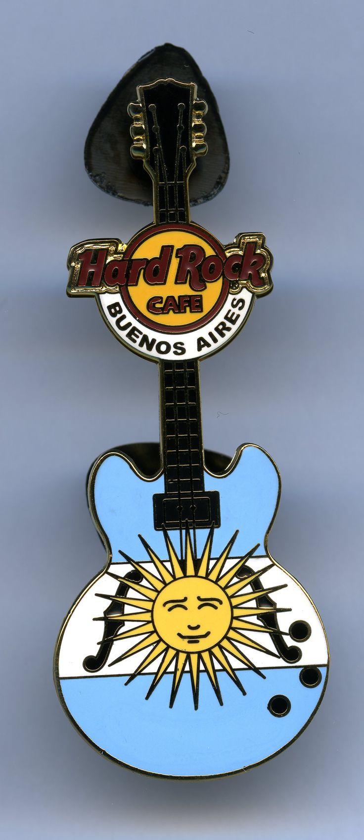 Buenos Aires - Hard Rock Cafe Guitar Pin