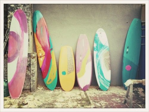 Ah, the thought of warm sunny beaches, surfing, sun, sea, sand....!