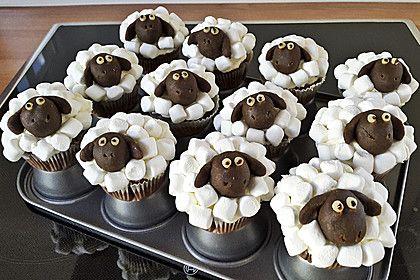 Cupcake-Schafe mit Marshmallow-Frosting (Rezept mit Bild) | Chefkoch.de