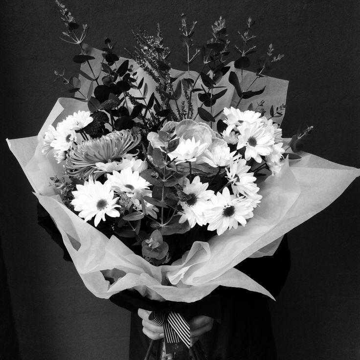 Amazing Flowers in Black & White