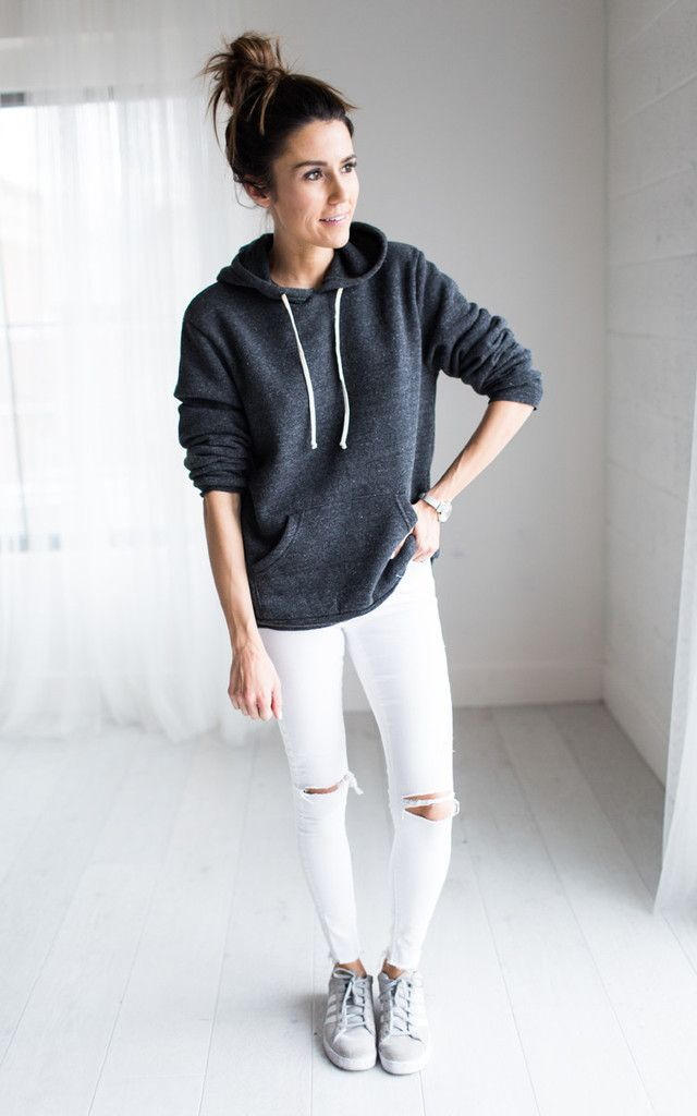 impactful outfit with hoodie