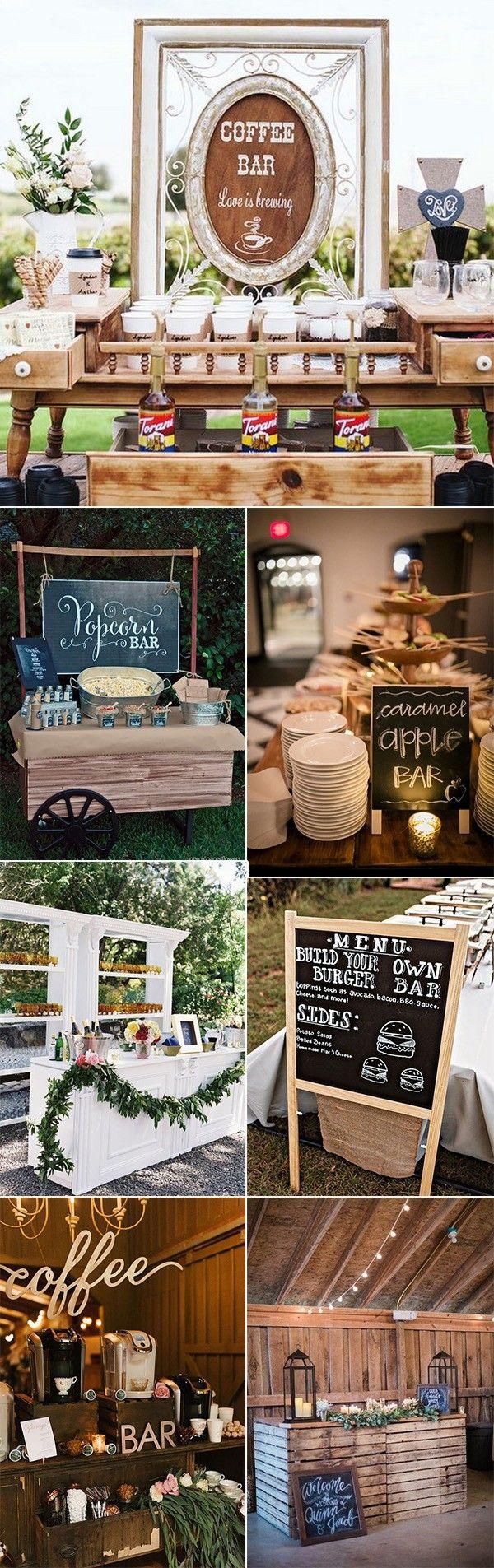 trending wedding reception bar ideas for 2018 #weddingreception #weddingideas #weddingfood #weddingdrinks #weddingdecor