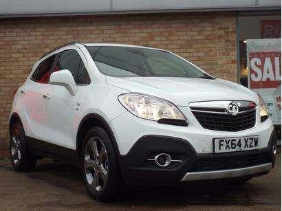 Used 2014 (64 reg) White Vauxhall Mokka for sale on RAC Cars