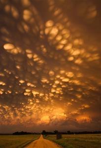 NEBRASKA - mammatus clouds