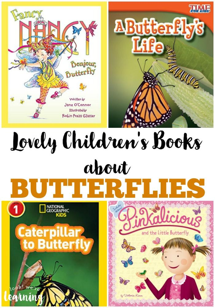 Learning about butterflies with your kids? Try these adorable children's books about butterflies!
