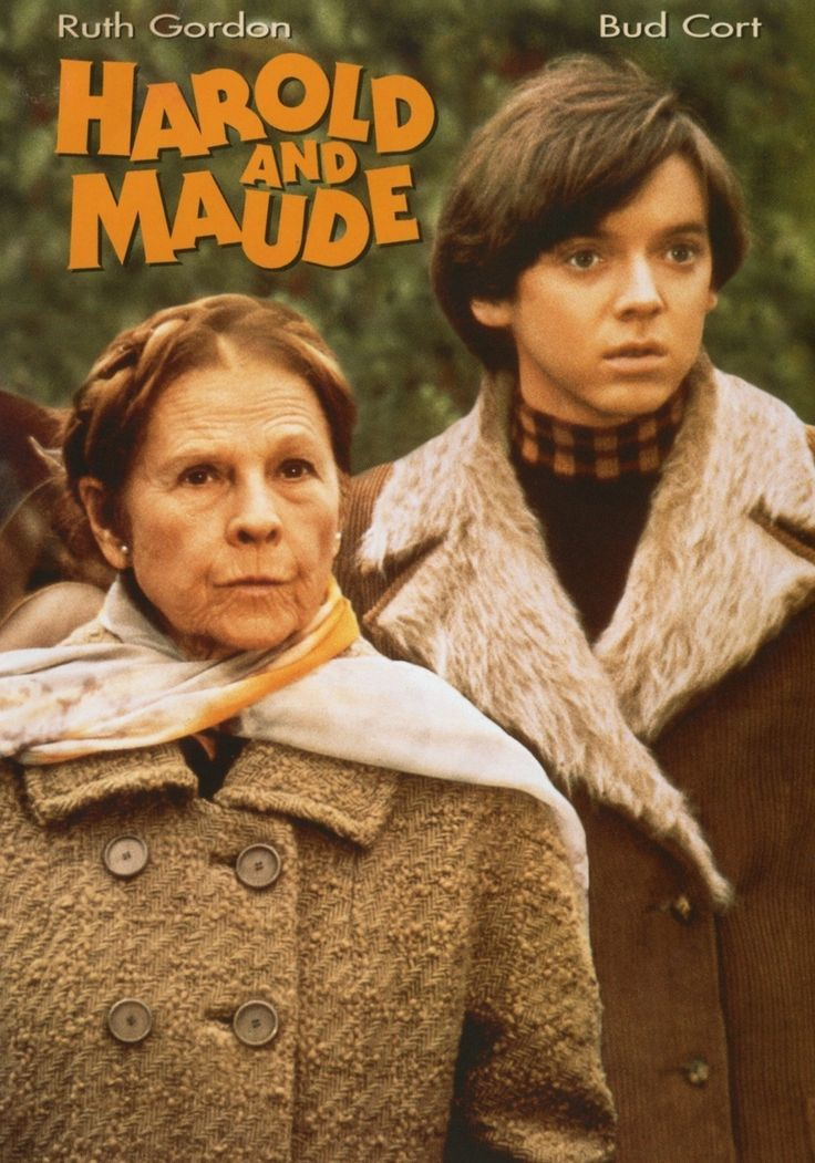 """Harold And Maude"" (Paramount Pictures)~1971 Film directed by Hal Ashby featuring Ruth Gordon & Bud Cort"