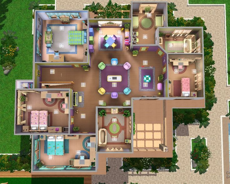 Sims 3 Legacy House Floor Plan   House And Home Design