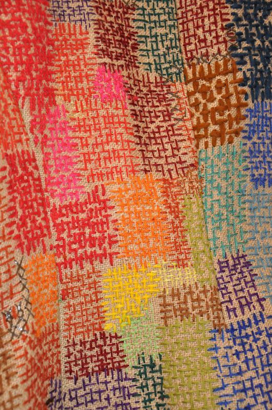 15 eme salon d art textile au chateau de la gobiniere enchantement des matieres et de la couleur... Jean Delafosse pour qui la...: