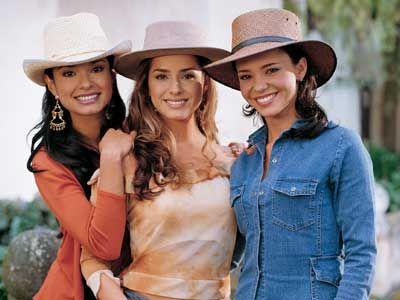 Antes de las hermanas Del Junco estuvieron las hermanas Elizondo #PasionDeGavilanes #TierraDeReyes