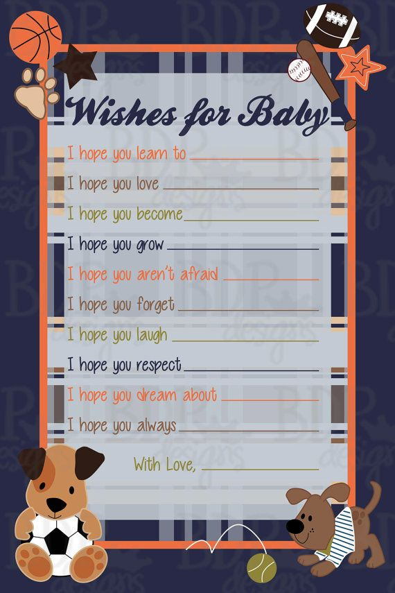 free printable camo baby shower invitations templates%0A Wishes for Baby
