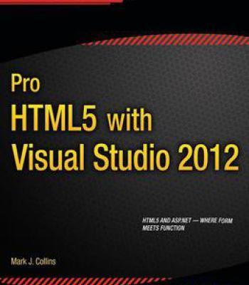 Pro Html5 With Visual Studio 2012 PDF