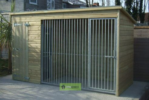 The Marple 8ft Wide x 4ft Deep Dog Kennel