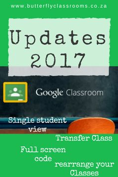 It is that time of the year again. Google is spoiling all of us with new updates to Google Classroom. Here is my pick of the updates.