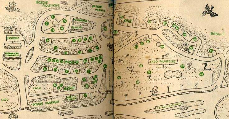 Guia do Zoológico de São Paulo 1964?