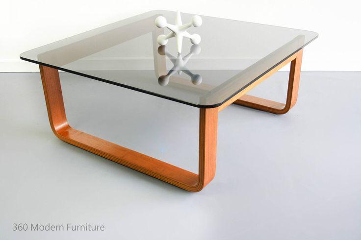 Mid Century Side Coffee Table Tessa T4 Retro Vintage Fred Lowen Teak Parker Era in Home & Garden, Furniture, Tables | eBay 360 Modern Furniture