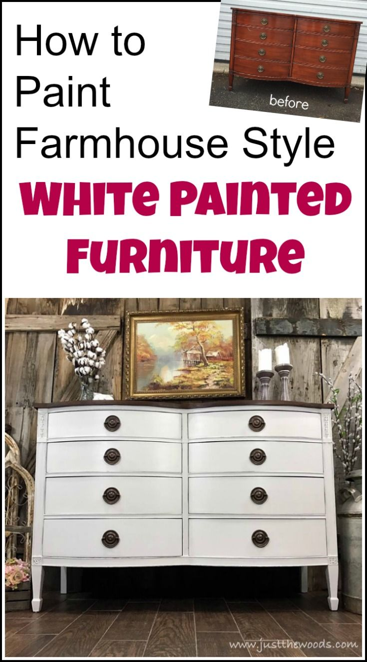 How to get farmhouse white painted furniture when confronted with bleed through issues while painting furniture | farmhouse painted furniture | white painted furniture | painted dresser | distressed painted furniture | distressed painted dresser | distressed chalk paint | farmhouse painted dresser | off white painted furniture | painted drexel furniture | painted drexel dresser | white painted dresser |
