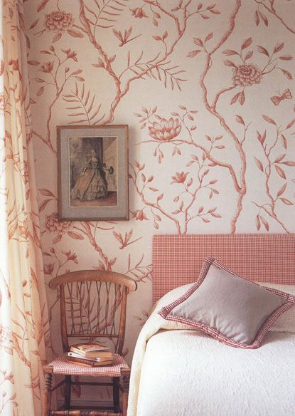 Jasper Peony in Rose by Adam Calkin for Lewis and Wood
