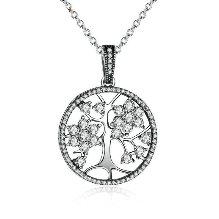 Sterling Silver Tree of Life Women Necklace
