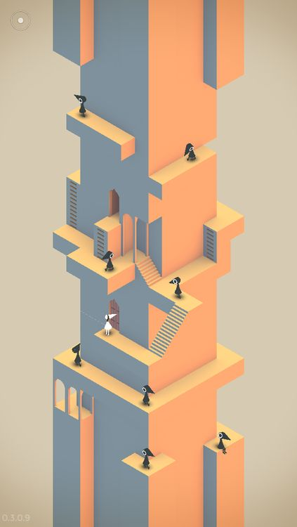 Monument Valley Been beta testing this game from @Gary Ginapp. It's a triumph. Oscar Reutersvärd would be proud!