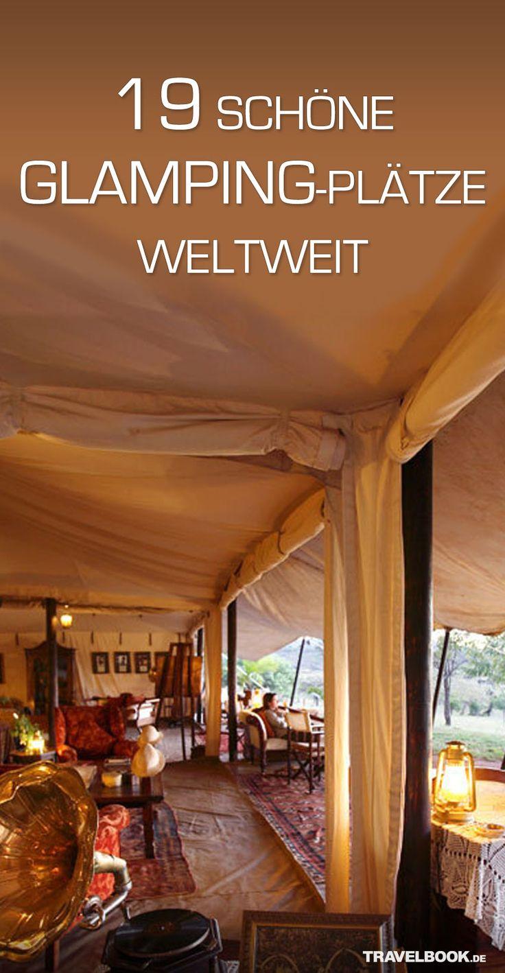 Campen kommt für Sie nicht in Frage, weil sie auf den Komfort eines Hotels nicht verzichten wollen? Dann lernen Sie doch mal Glamping kennen – die glamouröse Variante des Campings! TRAVELBOOK zeigt, w