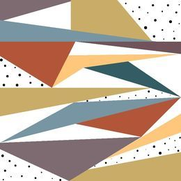 Geometric Doodle by artbynikitajariwala at zippi.co.uk