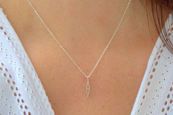 tiny filigree teardrop necklace sterling by SilverIrisJewelry