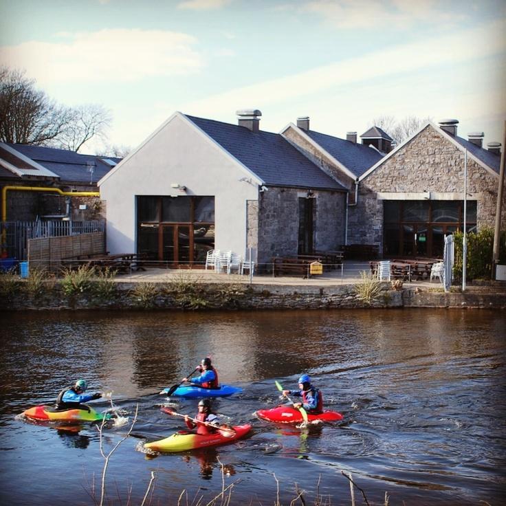 Kayaking, NUI Galway