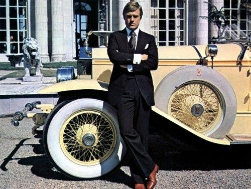 Menswear ideas.: The Great Gatsby, Jay Gatsby, Robertredford, Cars, Robert Redford, Style Icons, Gatsby Style, Gatsby 1974, Movie