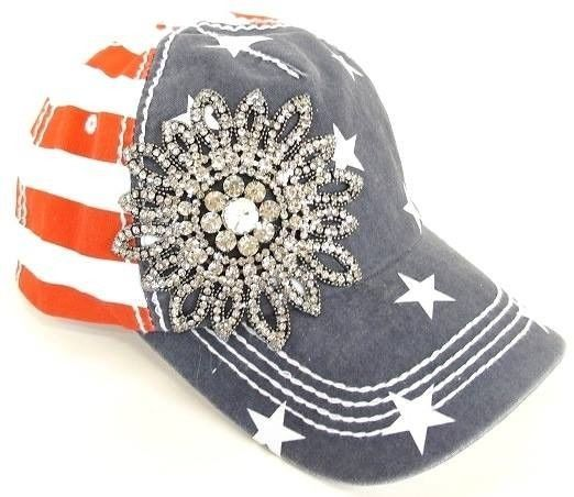 wholesale baseball caps bling womens olive pique cap handmade rhinestone flower