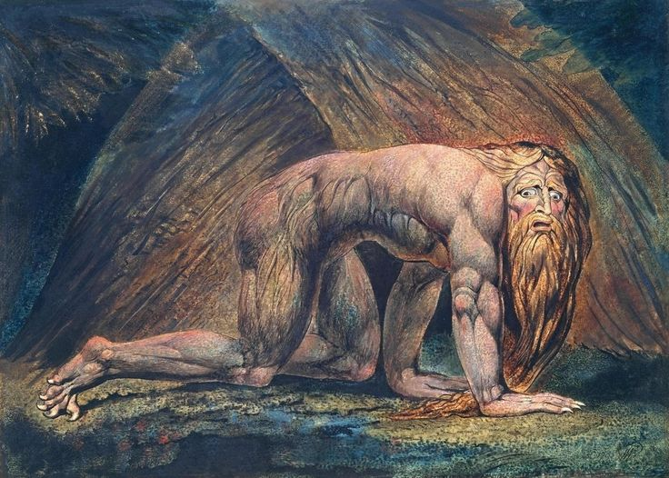 Nabucodonosor (1795 - 1805), William Blake.