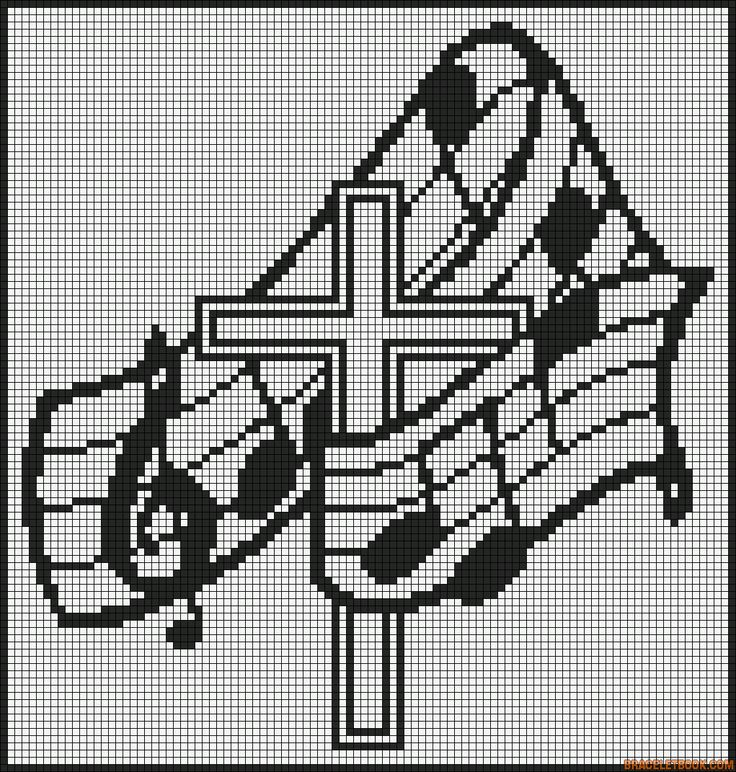 musique - music - église - point de croix - cross stitch - Blog : http://broderiemimie44.canalblog.com/