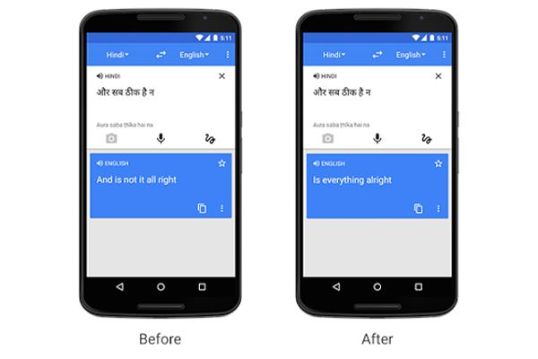Google Translate empieza utilizar redes neuronales para ofrecer traducciones más naturales #HerramientasWeb #Google #GoogleTranslate