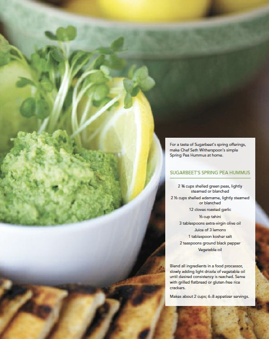 Spring pea hummus | vegan recipes | Pinterest