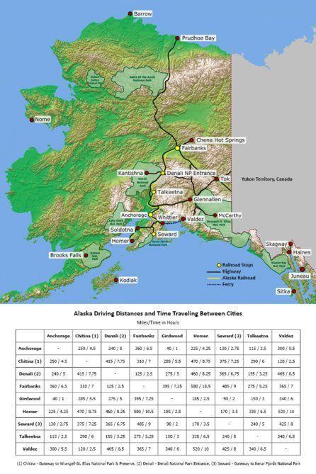 Alaska Driving Tours | Alaska Road Trips | Self-Drive Routes | Alaska | Pinterest | Alaska, Alaska travel and Road Trip