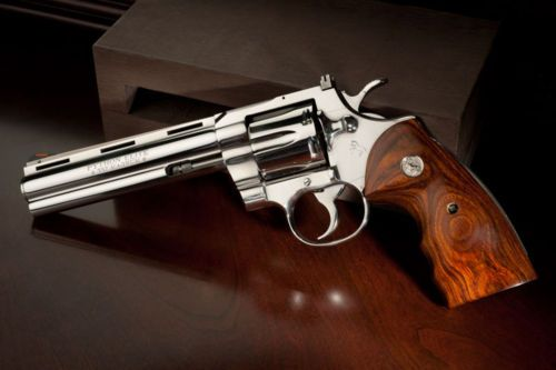 The Rolls Royce of Revolvers: The Colt Python Elite.