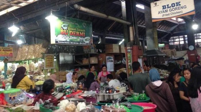 Pasar Gede Solo - Begini Kesegaran Dawet Telasih Legendaris Kota Bengawan, Jangan Kaget Saat Parkir