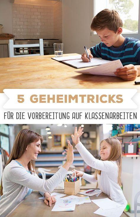 Mit diesen 5 Tricks ist dein Kind ab jetzt perfekt auf die nächste Klassenarbeit vorbereitet