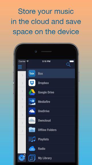 CloudBeats - 클라우드뮤직 플레이어 (Dropbox, OneDrive, Google Drive) willengale Solutions Ltd. 제작  클라우드에 업로드 된 음악을 이 어플로 바로 스트리밍 할수 있음.  나만의 스트리밍 음악 서비스 :0 괜찮은데?