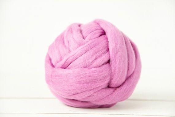 Super voluminosos hilado 100% lana de Merino luz por WoolenClogs
