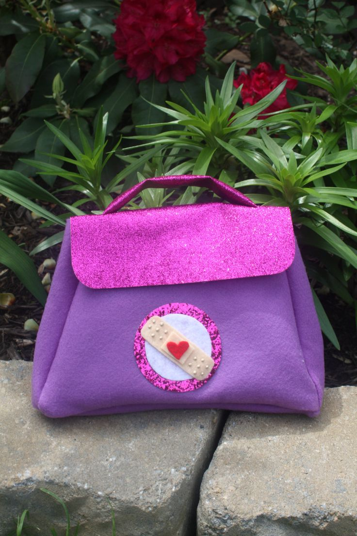 Doc Mc Stuffins Doctor Bag by misscreativeme on Etsy, $14.50