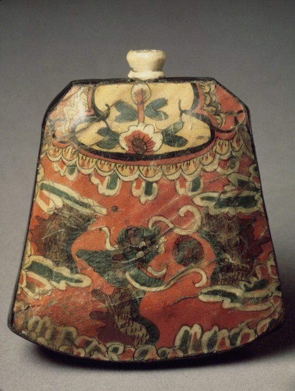 Bottle Made from horn 19th century Joseon Dynasty, Korea