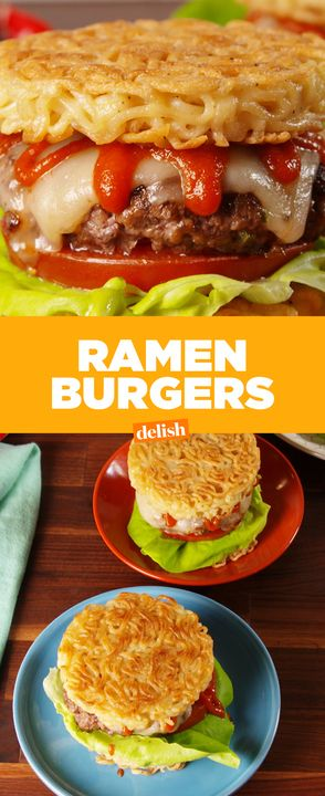 There's a reason why Ramen Burgers get so much hype. Get the recipe from Delish.com.