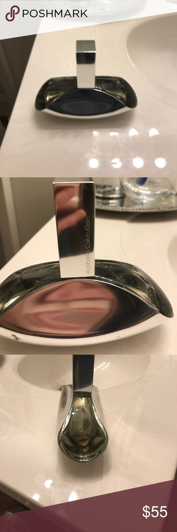 Calvin Klein euphoria perfume I'm selling a bottle of Calvin Klein euphoria perfume. It is a 3.4 fluid ounce bottle. It has only been used a couple times Calvin Klein Other