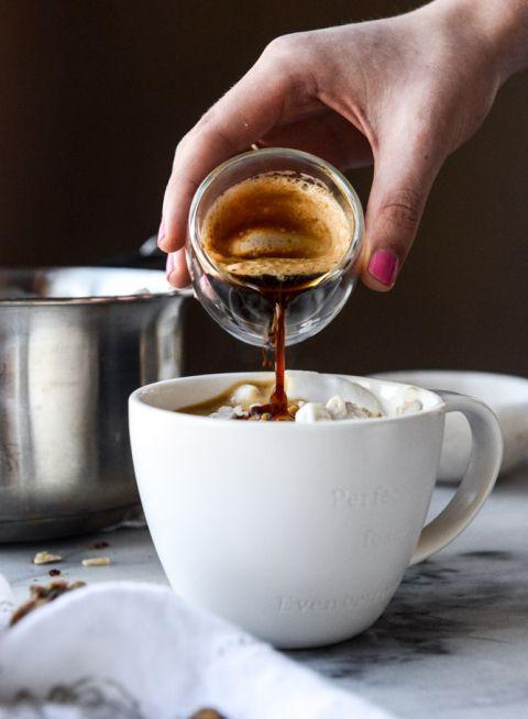 Oatmeal Latte |howsweeteats.com