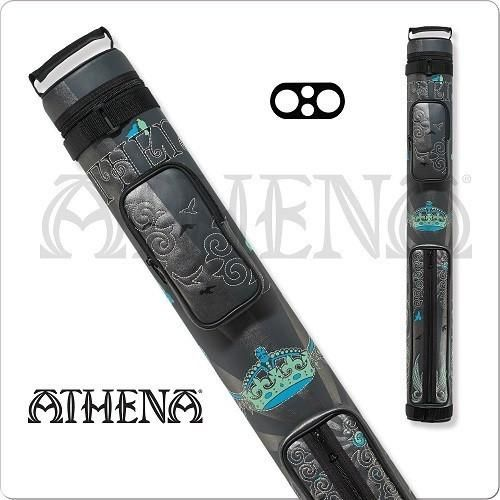Athena Cue Case - Cue Case - ATHC05 - 2x2 Stitch Crown Hard Case