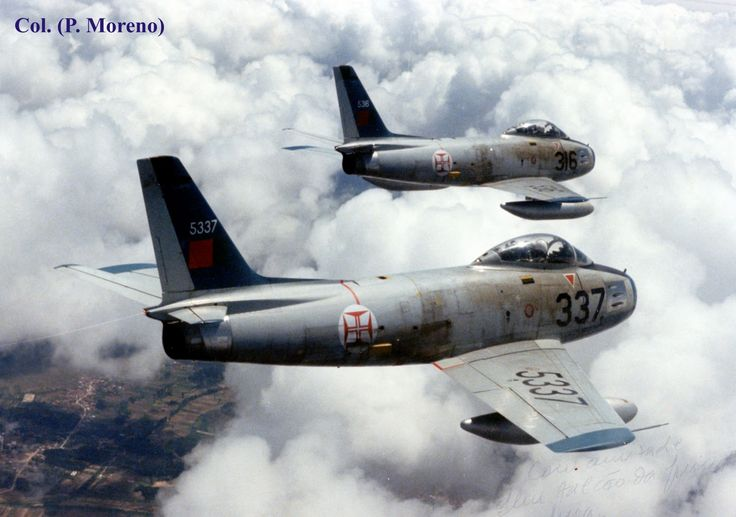 Portuguese Air Force Sabre F-86 F (1959-1980)