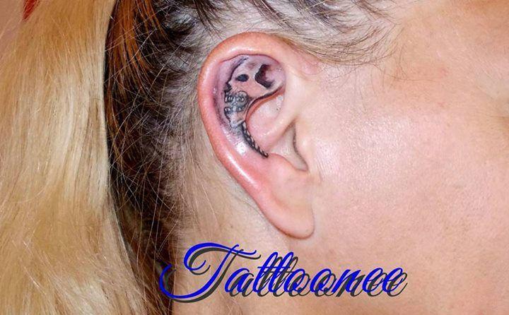 skull on your ear