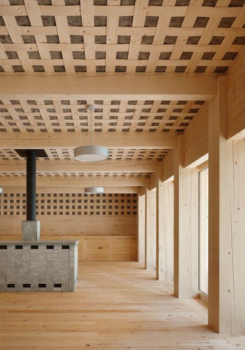 Gion A. Caminada_Das wohl sinnlichste Waldhaus